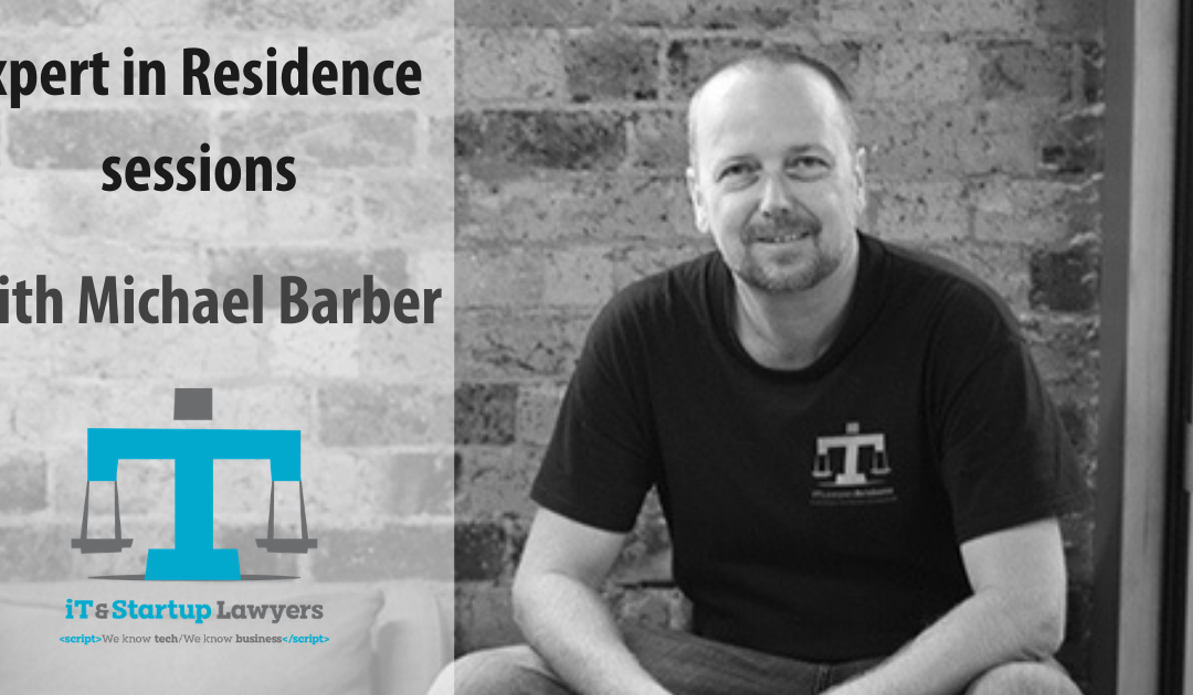 Expert In Residence Sessions